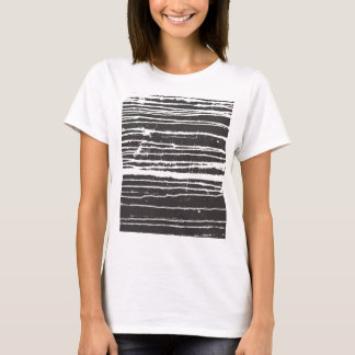 Camiseta T-shirt de tinta preta legal