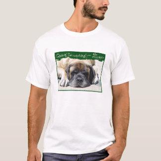 Camiseta T-shirt de trabalho do Mastiff