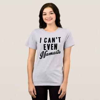 Camiseta T-shirt de Tumblr eu posso nem sequer Namaste