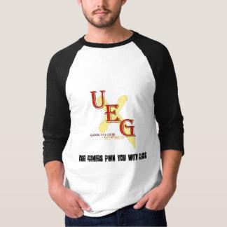 Camiseta T-shirt de UEG 3/4-length