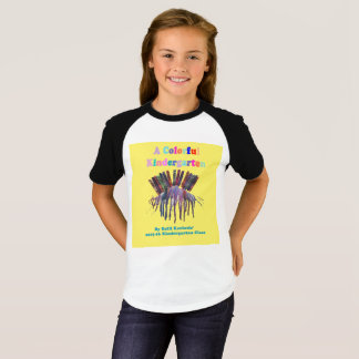 Camiseta T-shirt de um jardim de infância da cor (miúdos,