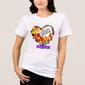 Camiseta T-shirt de uma diversidade de 2017 verões