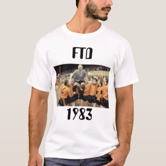 Camiseta T-shirt de vencimento do título de FTD 1983