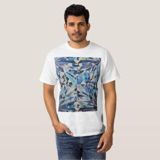Camiseta T-shirt de vidro do valor do diamante