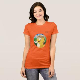 Camiseta T-shirt de VIPKID Colômbia (alaranjado)