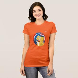 Camiseta T-shirt de VIPKID EUA (alaranjado)