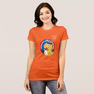 Camiseta T-shirt de VIPKID para o professor Laura
