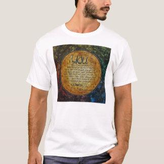 Camiseta T-shirt de Walt Whitman pelo unASLEEP