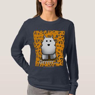 Camiseta T-shirt de Westie da guarda