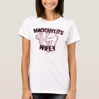 Camiseta T-shirt de Wifey dos grafites das produções de