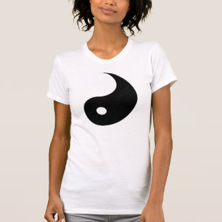 Camiseta T-shirt de Ying, olhares grandes com Yang