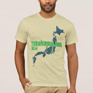 Camiseta T-shirt de Yokohama do estilo do vintage