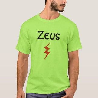 Camiseta T-shirt de Zeus