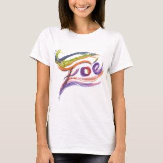 Camiseta T-shirt de Zoe para as meninas