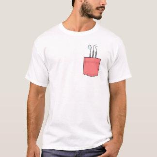 Camiseta T-shirt dental do bolso