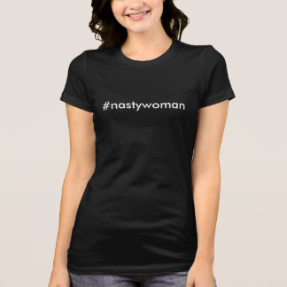 Camiseta T-shirt desagradável da mulher