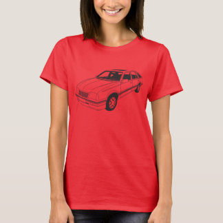 Camiseta T-shirt descuidado de Vauxhall SRi Mk2