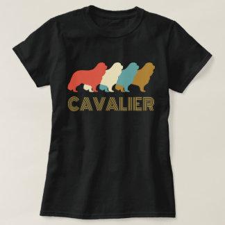 Camiseta T-shirt descuidado do Spaniel de rei Charles do
