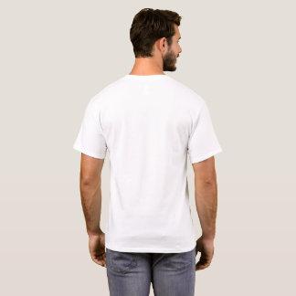 Camiseta T-shirt dianteiro do bolso da arte abstracta