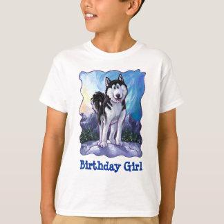Camiseta T-shirt dianteiro e traseiro da menina ronca