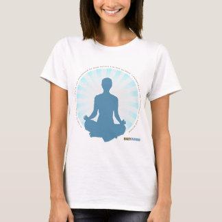 """Camiseta """"T-shirt DIÁRIO da paz interna"""" de WORD®"""