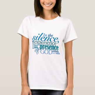 """Camiseta T-shirt DIÁRIO do """"silêncio"""" de WORD®"""