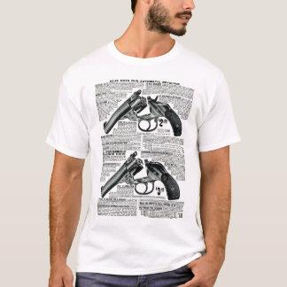 Camiseta T-shirt disponível do anúncio do vintage do