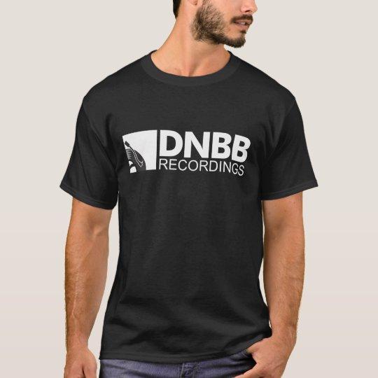 Camiseta T-Shirt DNBB Recordings Classic (Black)