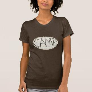 Camiseta T-shirt do acampamento