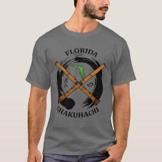 Camiseta T-shirt do acampamento de Florida Shakuhachi