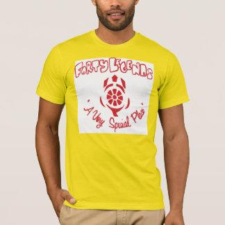 Camiseta T-shirt do acampamento de quarenta legendas