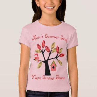 Camiseta T-shirt do acampamento de Verão da mãe