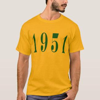 Camiseta T-shirt do adulto 1951