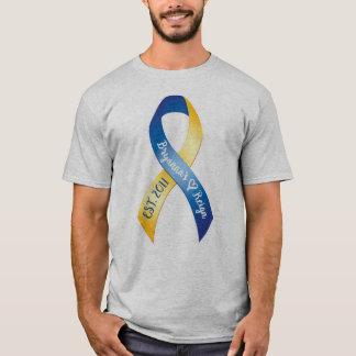 Camiseta T-shirt do adulto da caminhada do reino de Bryanna