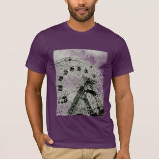 Camiseta T-shirt do adulto da roda da maravilha