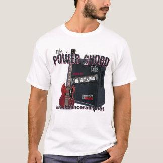 Camiseta T-shirt do adulto do café da corda do poder