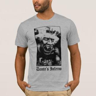 Camiseta T-shirt do adulto do inferno de Dante