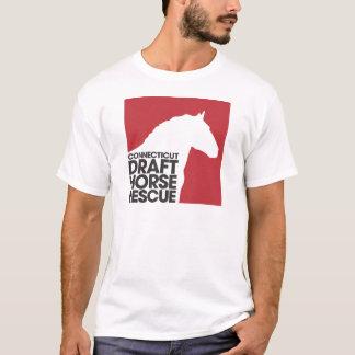 Camiseta T-shirt do adulto do salvamento do cavalo de