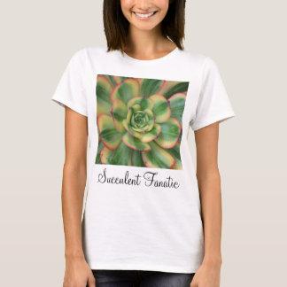 Camiseta T-shirt do Aeonium do Sunburst
