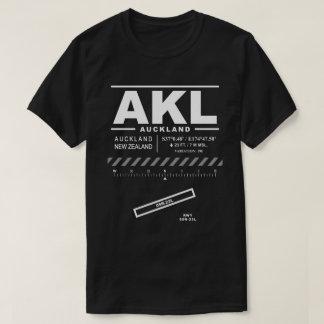 Camiseta T-shirt do aeroporto AKL de Auckland