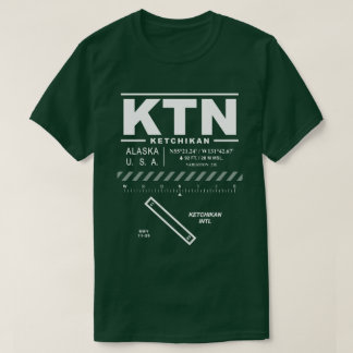 Camiseta T-shirt do aeroporto internacional KTN de