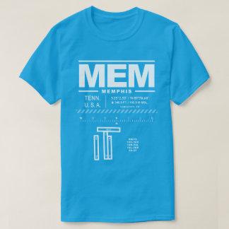 Camiseta T-shirt do aeroporto internacional MEM de Memphis