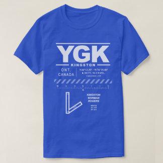 Camiseta T-shirt do aeroporto YGK de Rogers do normando de
