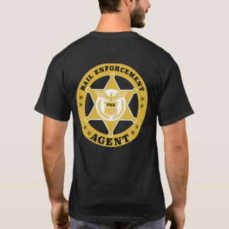 Camiseta T-shirt do AGENTE de APLICAÇÃO da CAUÇÃO