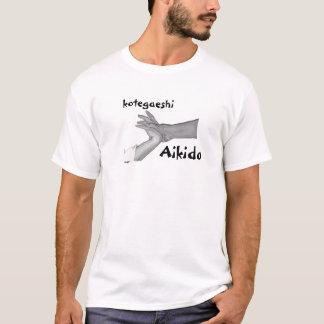 Camiseta T-shirt do Aikido de Kotegaeshi