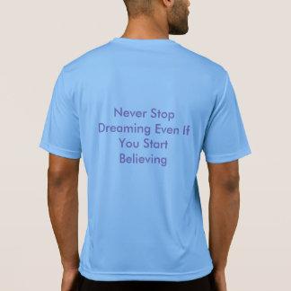 Camiseta T-shirt do ajustado do dri do baralhamento do JP