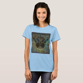 Camiseta T-shirt do álbum de Steve Walsh 4o (mulheres)