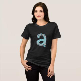 Camiseta T-shirt do alfabeto - projetado pelo monUnique App