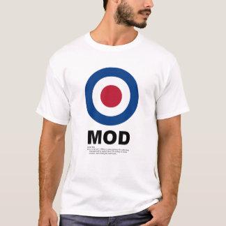 Camiseta T-shirt do alvo da modificação