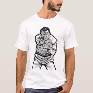 Camiseta T-shirt do alvo do tipo mau